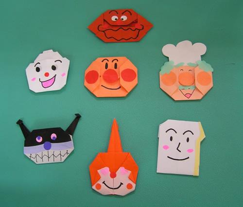 ハート 折り紙 折り紙 人気キャラクター : mammami-a.club